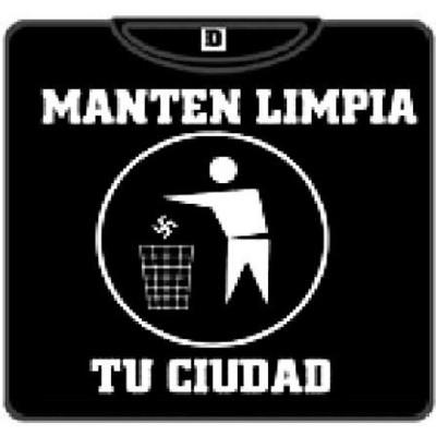 MANTEN LIMPIA TU CIUDAD  Papelera 100
