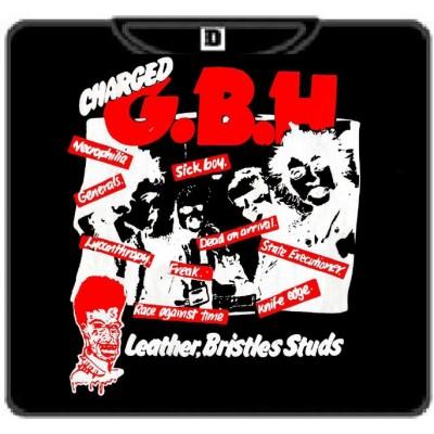 G.B.H.-3 Leather, bristles studs 100