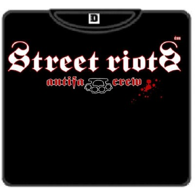 STREET RIOT Antifacrew  ODIO 100
