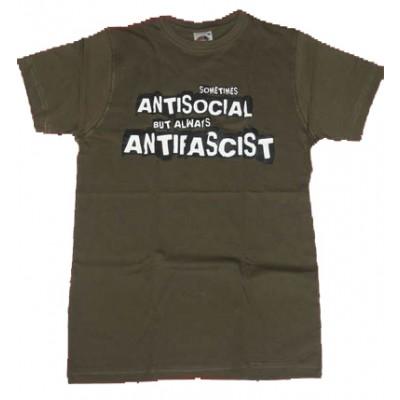 SOMETIMES ANTISOCIAL, but ALWAYS ANTIFASCIST 100