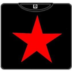 ESTRELLA:  ROJA  camiseta negra ESTRELLA:  ROJA  camiseta negra 100