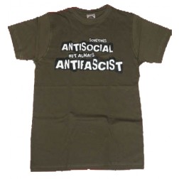 SOMETIMES ANTISOCIAL, but ALWAYS ANTIFASCIST